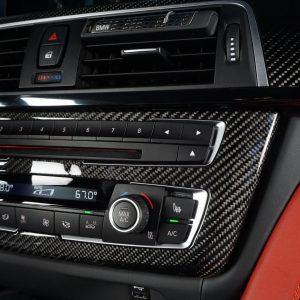 Radioblende Blende BMW Carbon
