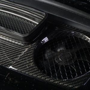 Motorabdeckung Carbon porsche 911