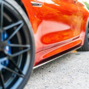 Sideskirts Seitenschweller BMW Carbon