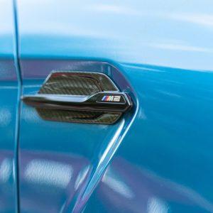 Zierleisten Kotflügel BMW M2 Carbon