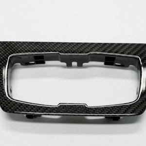 Zierleiste Umrandung Lichtschalter BMW Carbon
